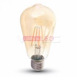 Lamp/ST64/Ambar/E27/6w/60W/500Lm/2200K/V-TAC-4362
