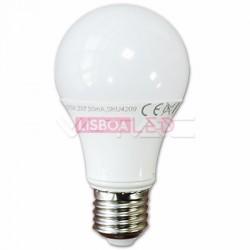 Lamp/A60/Opal/E27/7W/40W/470Lm/6400K/V-TAC-4378