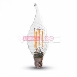 Lâmp.Boémia/CL/Tôrc/Fil/4W/40W/400Lm/2700K/Dim/V-TAC-4388