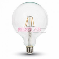 Lâmpada LED E27 10w 75W Luz Quente 1055Lm G125 FILAMENTO - 8954422