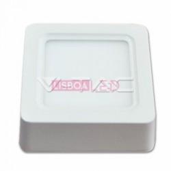 8W Painel Saliente Quadrado Branco Neutro 120º 720Lm - 8954801