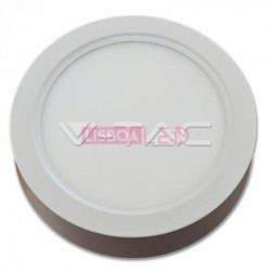 15W Painel Saliente Redondo Branco Frio 120º 1350Lm - 8954809
