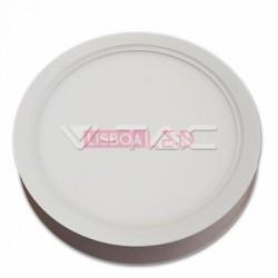 22W Painel Saliente Redondo Branco Frio 120º 1980Lm - 8954815