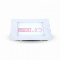 22W Mini Painel Quadrado Branco Quente 120º 1980Lm - 8954832