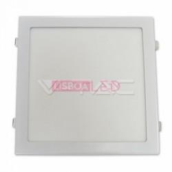 Painel Quad./Br/24W /100W/2400Lm/6000k/Driv.Incl.V-TAC-4889