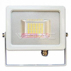 20W Projector SLIM SMD Branco 120º Branco Quente 1600Lm - 8955676