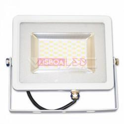 50W Projector SLIM SMD Branco 120º - Branco Frio 4000Lm - 8955684