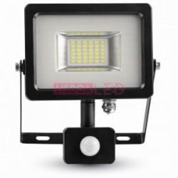 20W Projector SMD c/ Sensor Grafite Branco Quente 1600Lm - 8955697