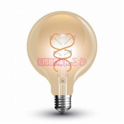 Lâmp.Led E27 5W/30W/300Lm/2200K/G95/VINTAGE AMBAR/V-TAC-7217
