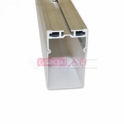 Perfil Aluminio 1 Mt p/ suspender - 8959994