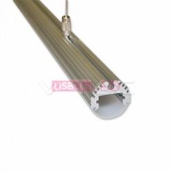 Perfil Aluminio 1 Mt p/ suspender - 8959995