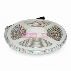 Fita/Led/c/5Mt/4,8W/500Lm/m/RGB/IP65/V-TAC-2118