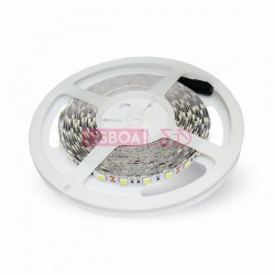 Fita/Led/c/5Mt/9,6W/1000Lm/m/6000K/IP20/V-TAC-2126