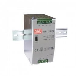 Fonte de alimentação industrial CALHA DIN 12VDC 10.0A 120W - DR-120-12
