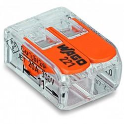 LIGADOR WAGO 2X02MM/4MM REF. 221-412 - 221-412