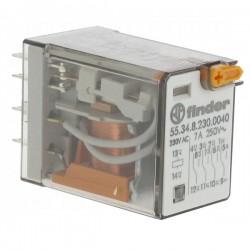 RELE 4INV 7A B-230V AC - 553482300040