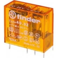 Série 40 Relé para circuito impresso plug-in 8A - 405280240000