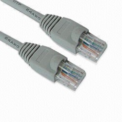 PATCH CABLE RJ45 CAT5e 2,0Mt CINZENTO - 95-706/02GB