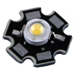 CHIP LED 1W 3,2-3,4V DC 350mA 6500K C/ dissip. - LED1W-D