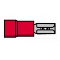 Terminal fêmea isolado vermelho - 011-0382