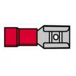Terminal fêmea isolado vermelho - 011-0384