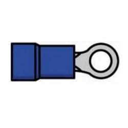 Terminal de olhal isolado azul - 011-0407