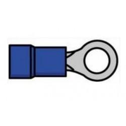 Terminal de olhal isolado azul - 011-0408