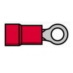 Terminal de olhal isolado vermelho - 011-0404