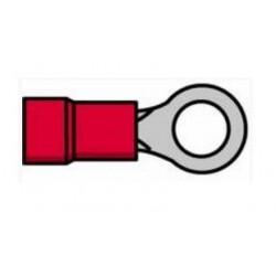 Terminal de olhal isolado vermelho 0.5-1.0mm 5.3mm