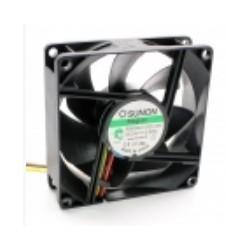 VENT. 80x80x25mm 24VDC 0.166A 3.99W 3 fios Sunon PE80252V2-0 - 048-0092