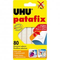 UHU Patafix Branco - 80 pastilhas 41710 - 560176041710