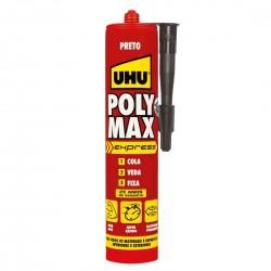 UHU Poly Max® Express Preto 425g 37315 - 560176037315