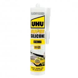 UHU Super Silicone Cozinha Transparente 300ml 36845 - 560176036845