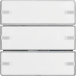 BP KNX Q. X 3 TECLAS EASY P-ETIQ, ALUM. 80143321 - 80143321