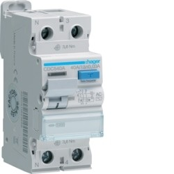 INTER. DIF. 1P+N 40A 30MA TIPO AC 2M CDC540A - CDC540A
