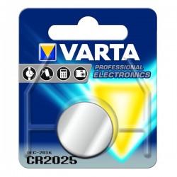 PILHA VARTA ELECTRONICS LITIO CR2025 - 9006025