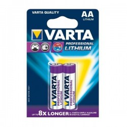 PILHA VARTA LITHIUM LR06 AA 1,5V - 9006106