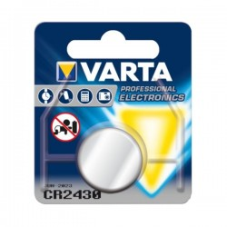 PILHA VARTA ELECTRONICS LITIO CR2430 - 9006430