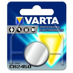 PILHA VARTA ELECTRONICS LITIO CR2450 - 9006450