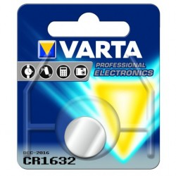 PILHA VARTA ELECTRONICS LITIO CR1632