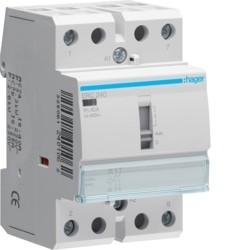 CONTACTOR COM MANU 40A, 2NA, 230V ERC240 - ERC240