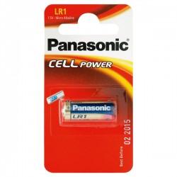Pilha alcalina LR1 / Lady / N 1.5V - Panasonic - 112-0125