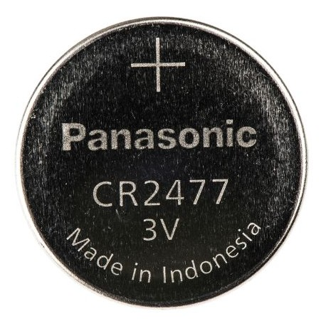 Pilha Litio CR2477 3.0V LiMnO2 - Panasonic - 112-0203