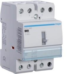 CONTACTOR DIA/NOITE 40A, 3NA, 230V 3M ETC340 - ETC340