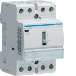 CONTACTOR DIA/NOITE 40A, 4NA, 230V 3M ETC440 - ETC440