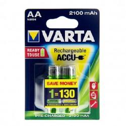 PILHA RECARREGAVEL VARTA LR06 AA 2100MAH - 90056706