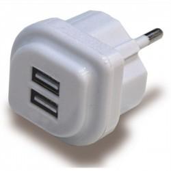 FICHA C/2 TOM. USB 2A 5V BRANCA - 1450F - 2241450F10