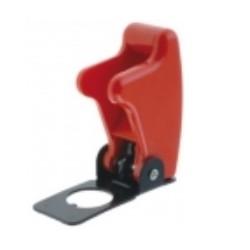 Capa protectora para interruptores de alavanca - vermelha - 010-0134