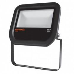 50W Osram LEDVANCE LED Floodlight 3000K 5000lm IP65 Black - 001107