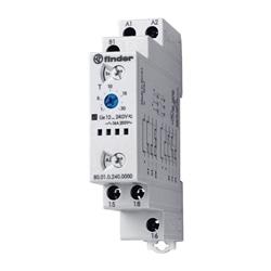 Relé Temporizador modular multifun. Finder 80.01.0.240.0000 - 800102400000